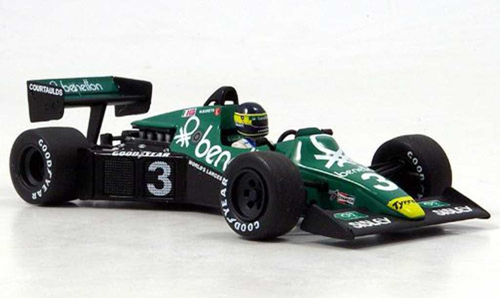Ford F1 1983 1/43 Minichamps Tyrrell 012 Alboreto GP Niederlande miniature