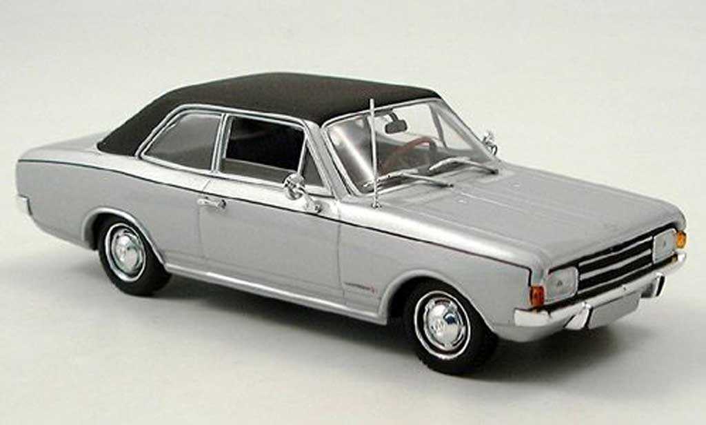 Opel Commodore A 1/43 Minichamps grise 1970 miniature