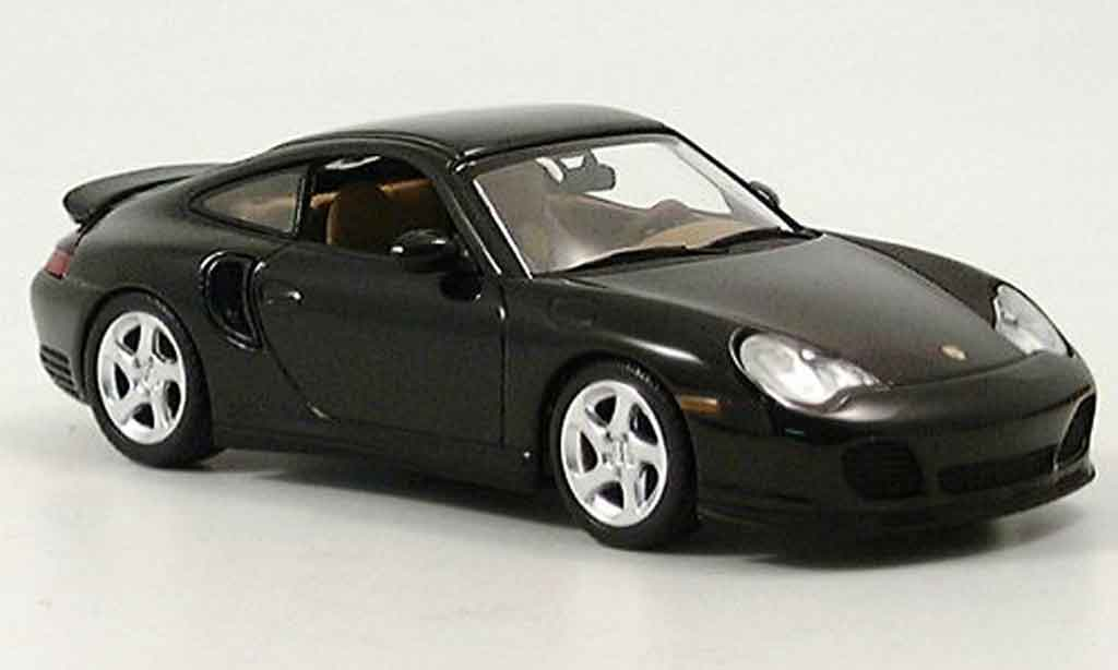 Porsche 996 Turbo 1/43 Minichamps grun 2005 diecast model cars