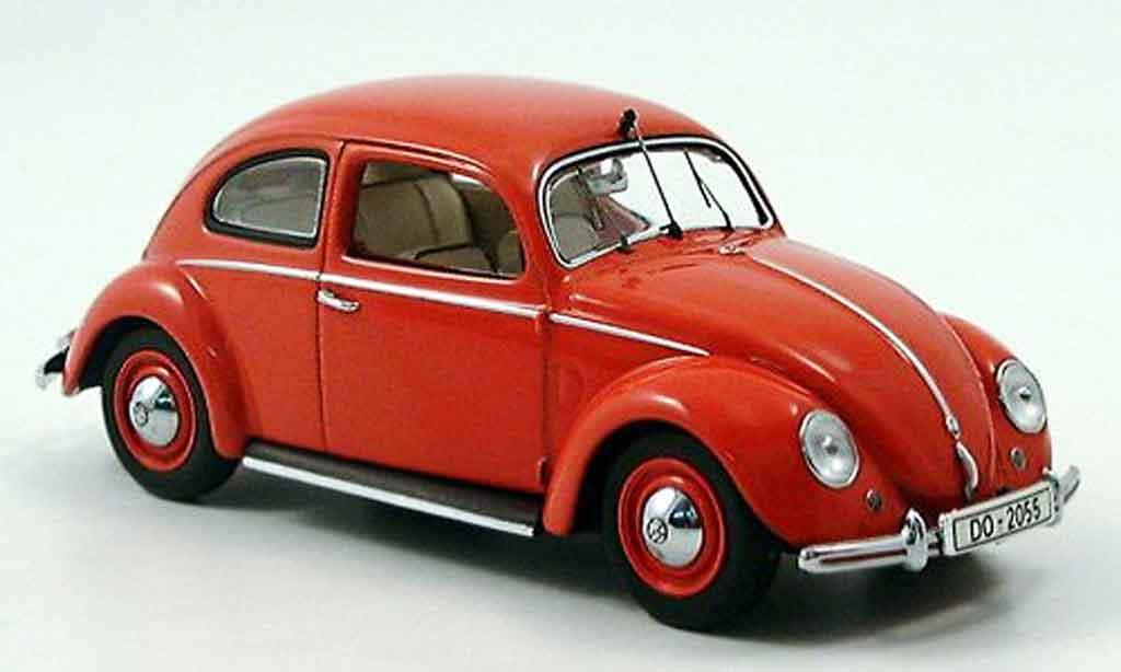 Volkswagen Coccinelle 1/43 Minichamps 1200export pompier dortmund miniature