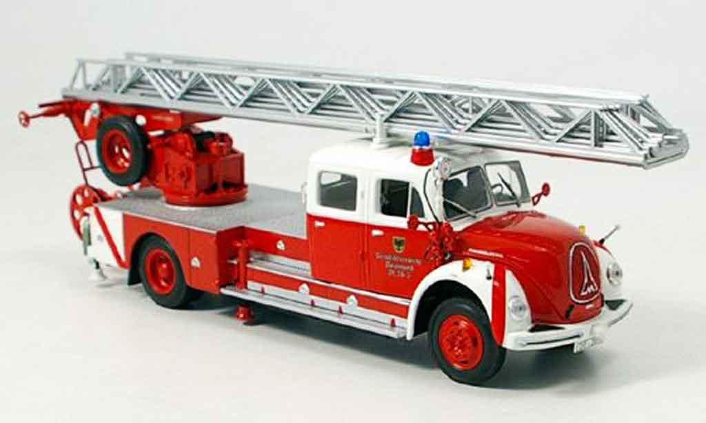 Magirus DL 30 1/43 Minichamps Merkur pompier Dortmund miniature