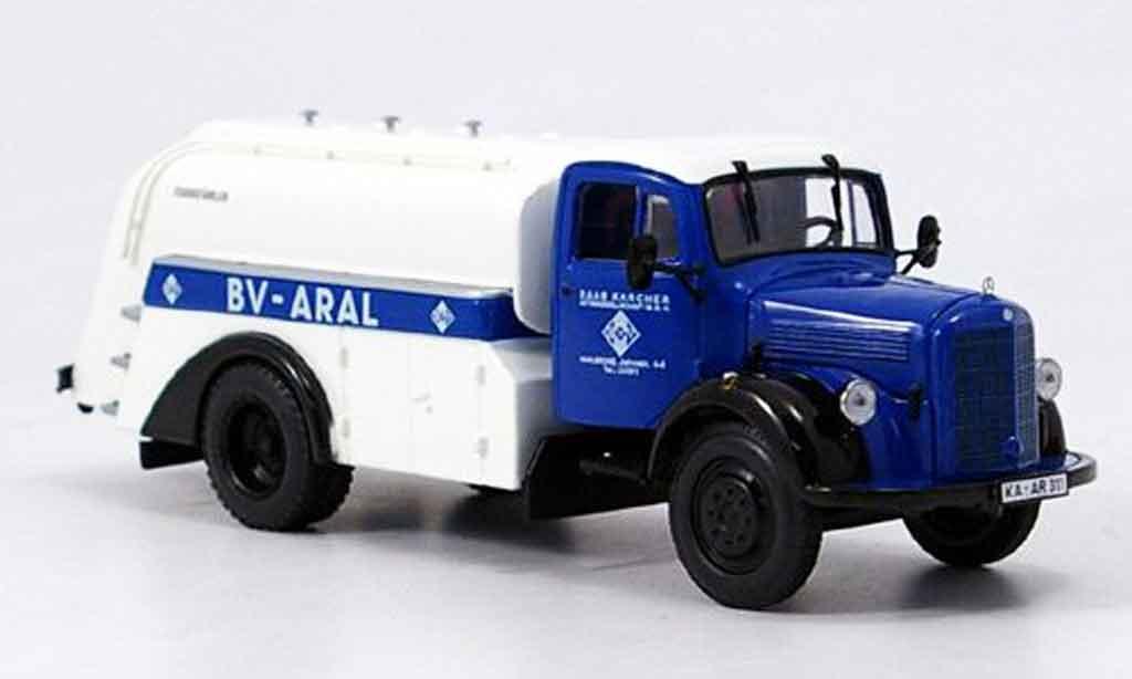 Mercedes L3500 1/43 Minichamps Tankwagen Aral miniature