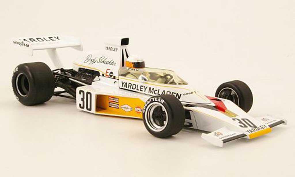Ford F1 1973 1/18 Minichamps mclaren ford m23 no.30 yardley gp grande bretagne j.scheckter avec panneaux amovibles miniature