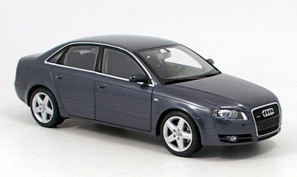 Audi A4 1/18 Minichamps grise 2005 miniature