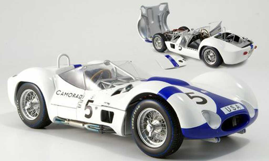 Maserati Tipo 1/18 Minichamps 61 no5 camoradi 1000km nurburgring 1960 miniature