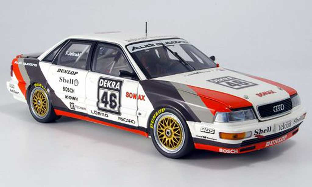 audi v8 quattro jelinski dtm 1990 minichamps modellauto 1. Black Bedroom Furniture Sets. Home Design Ideas