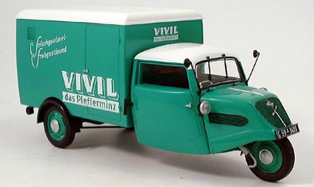 Tempo Hanseat 1/18 Minichamps kasten vivil linkslenker (lhd) 1952 miniature