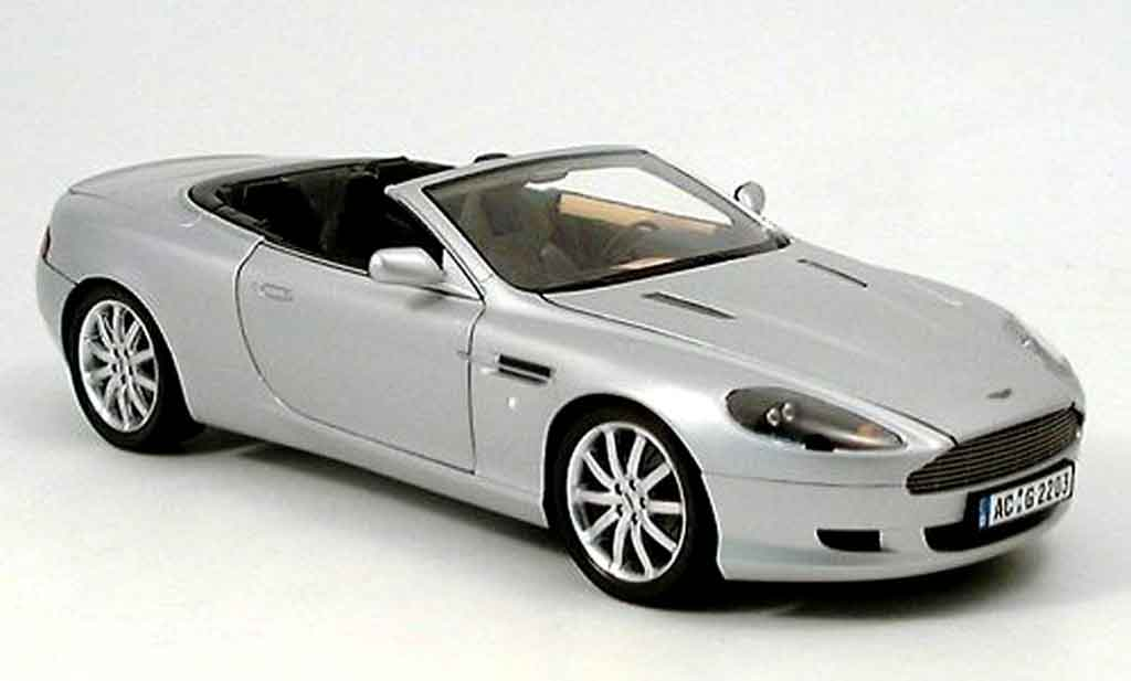 aston martin db9 volante gray minichamps diecast model car 1 18 buy sell diecast car on. Black Bedroom Furniture Sets. Home Design Ideas