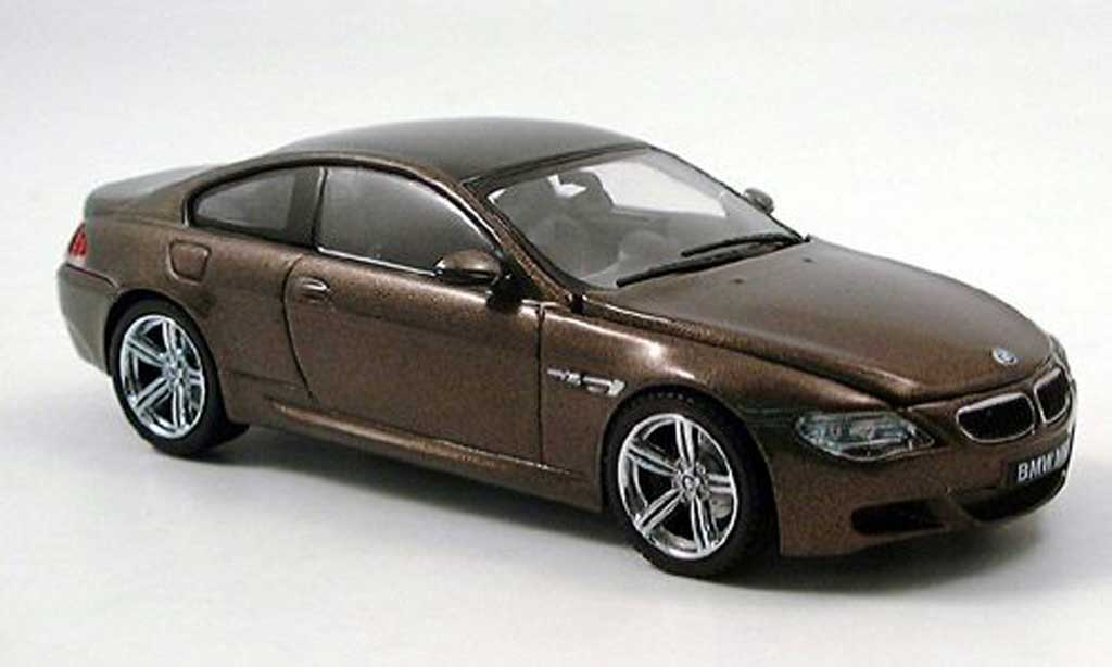 Bmw 550 E63 1/43 Kyosho bronze miniature