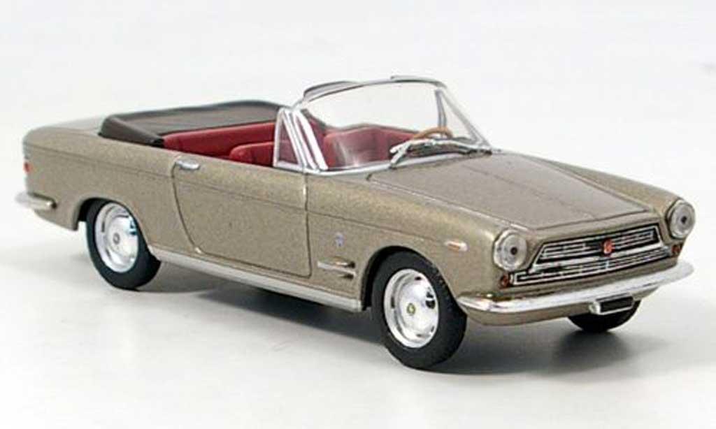 Fiat 2300 1/43 Starline S Cabrio offen met. bronze miniature