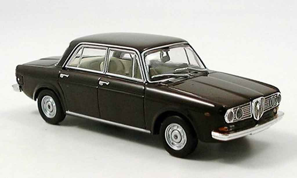 Lancia 2000 1/43 Starline berline marron miniature