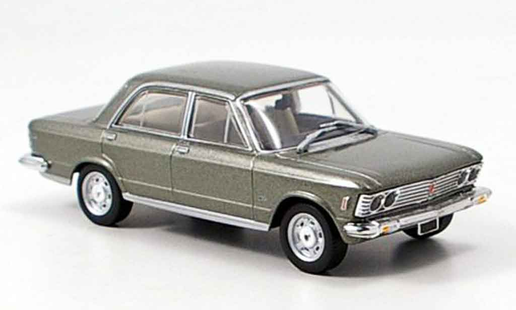 Fiat 130 1/43 Starline Limousine grise miniature