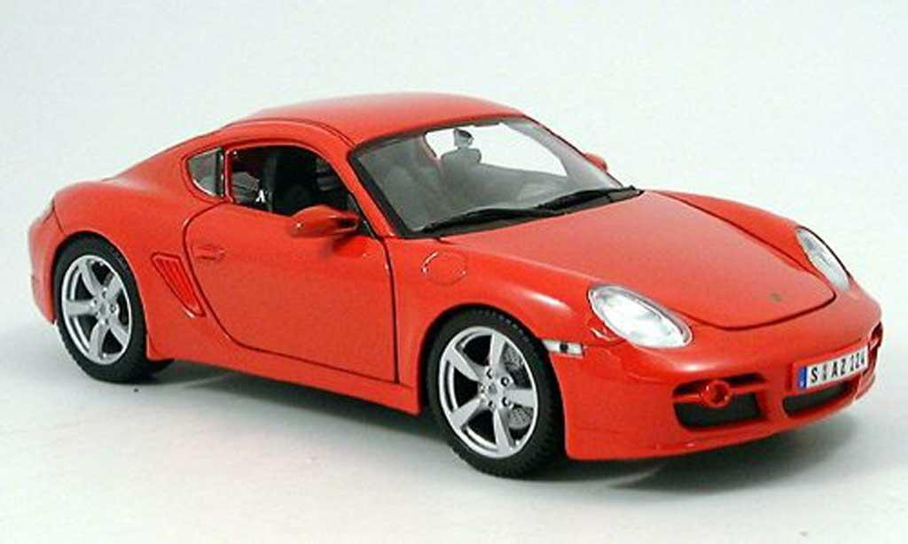 Porsche Cayman S Red Maisto Diecast Model Car 1 18 Buy