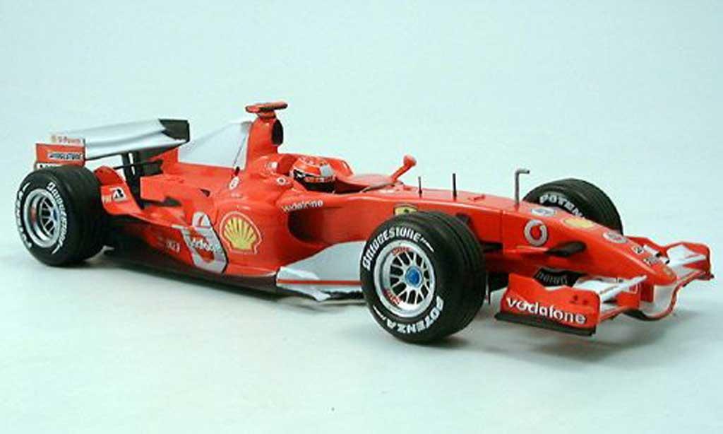 Ferrari F1 F2006 1/18 Hot Wheels f248 m.schumacher 2006 miniature