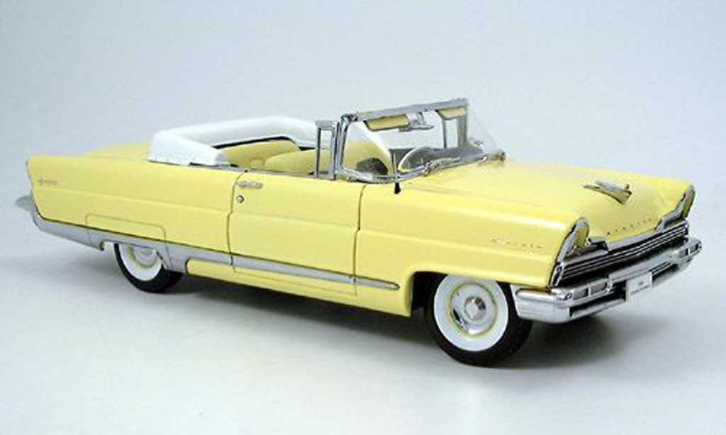 Lincoln Premiere 1/18 Sun Star convertible jaune 1956 miniature