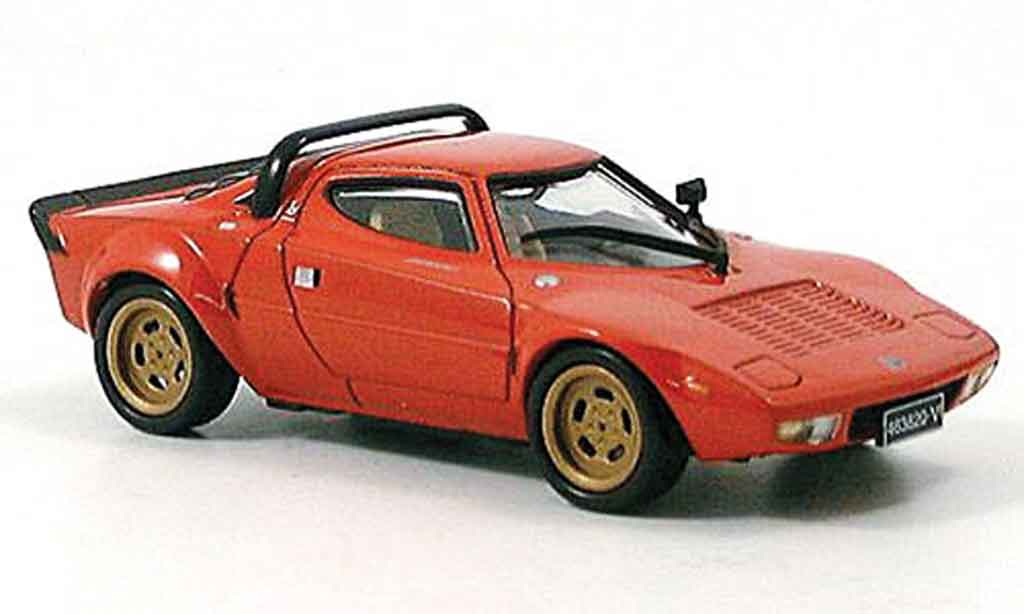 Lancia Stratos HF 1/43 DeAgostini hf red 1974 diecast model cars