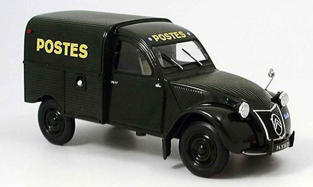 citroen 2cv camionette ente kastenente la poste norev modellauto 1 18 kaufen verkauf. Black Bedroom Furniture Sets. Home Design Ideas