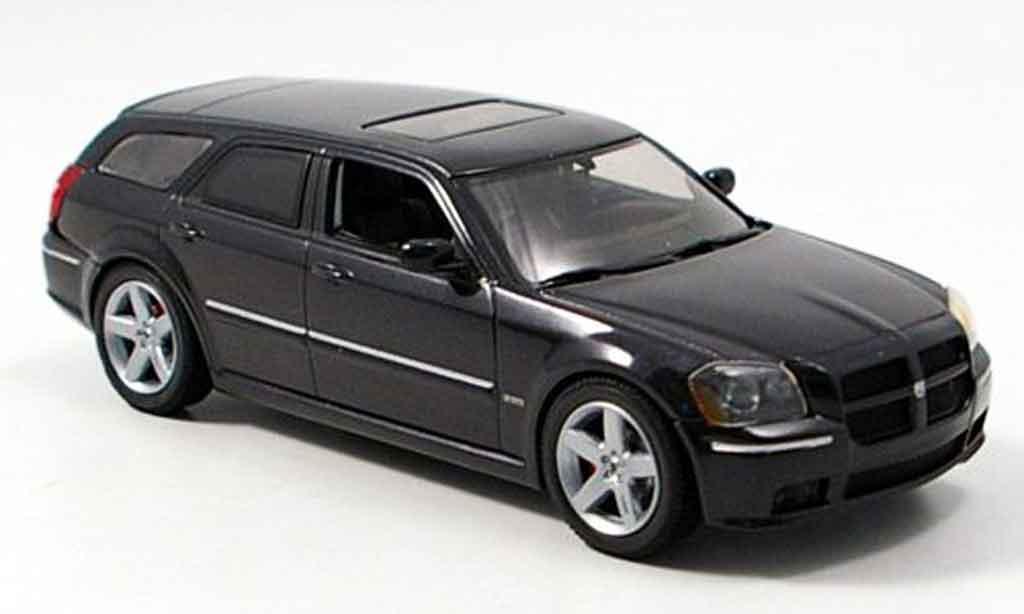 Dodge Magnum 2006 1/43 Norev SRT8 noire miniature