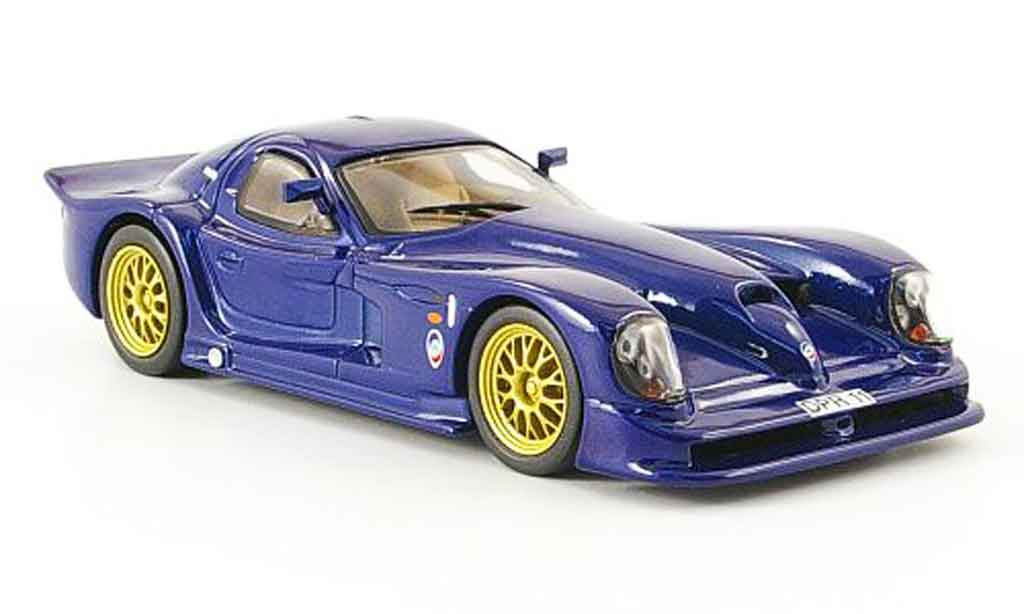 Panoz Esperante 1/43 IXO GTR bleu diecast model cars