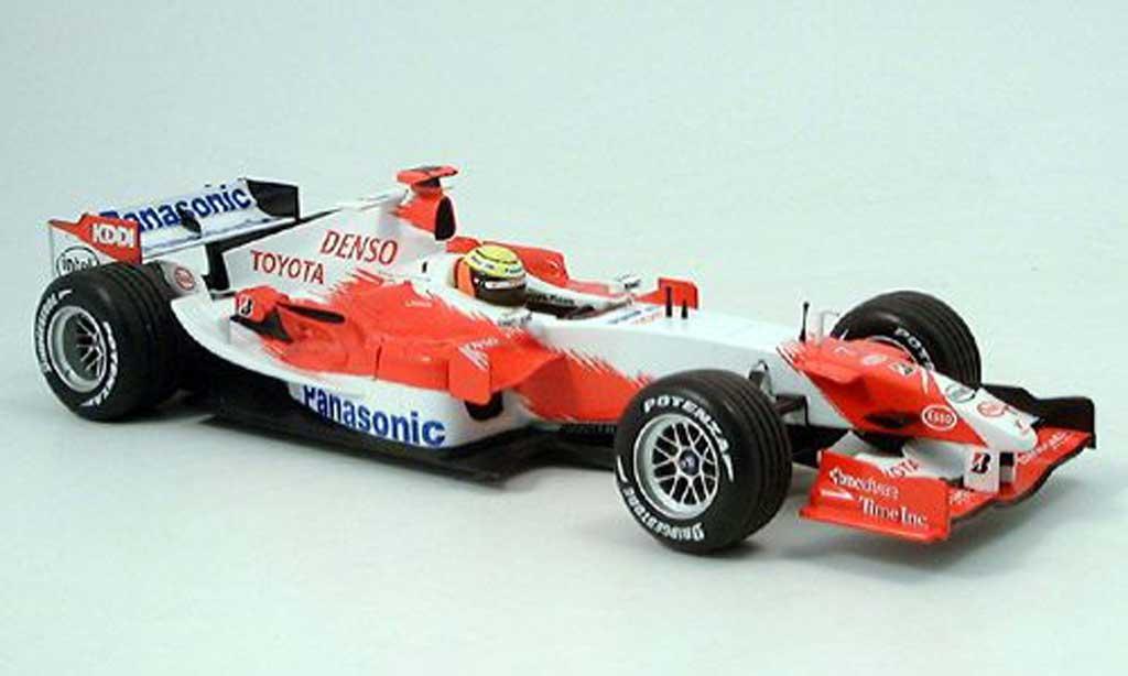 Toyota F1 1/18 Minichamps panasonic r.schumacher presentation 2006 miniature
