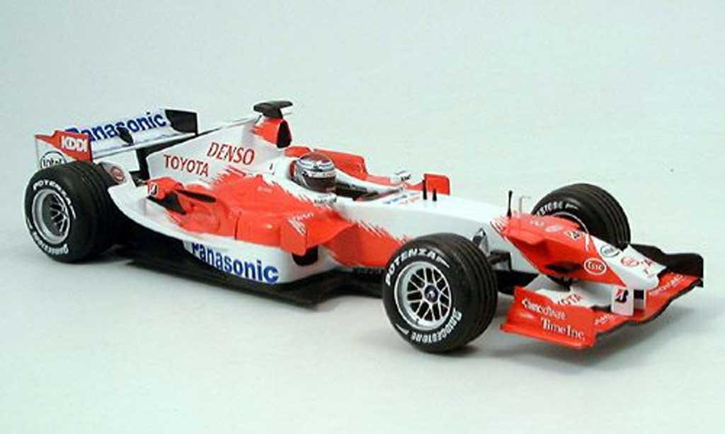 Toyota F1 1/18 Minichamps panasonic j.trulli presentation 2006 miniature