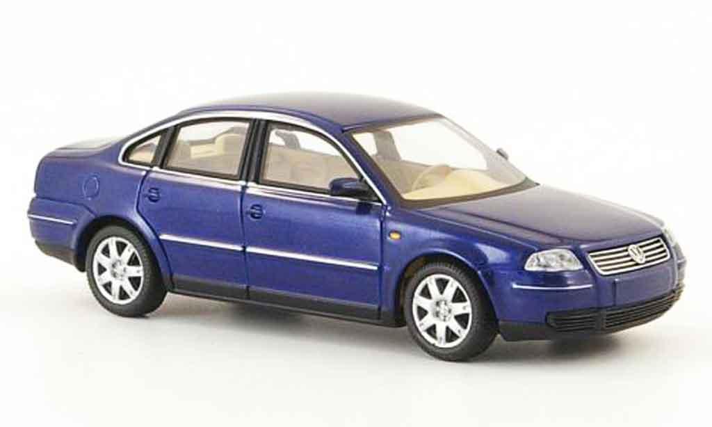 Volkswagen Passat Miniature Bleu Schuco 1 43 Voiture