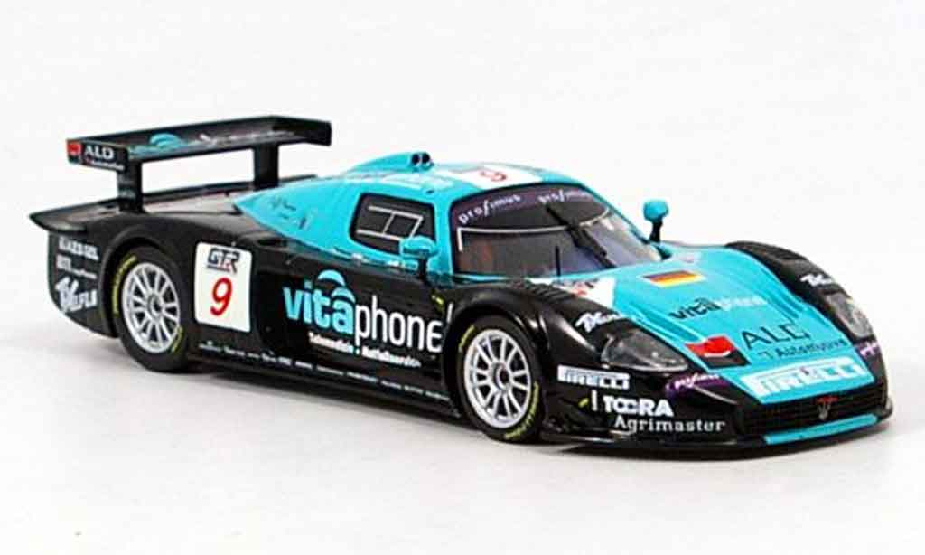 Maserati MC12 1/43 IXO no.9 vitaphone sieger spa 2005 miniature