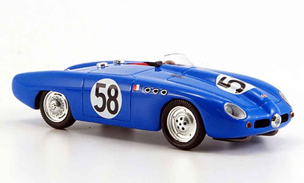 Panhard DB HBR 1953 1/43 Bizarre No.58 24h Le Mans miniature