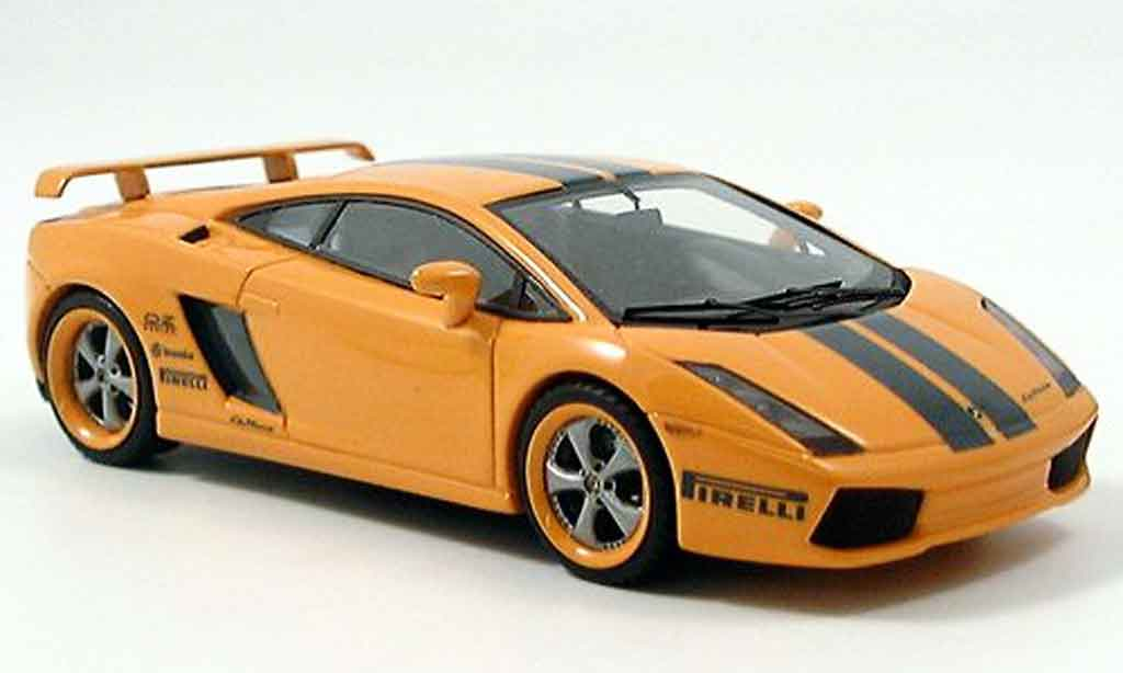 Lamborghini Gallardo 1/43 Look Smart le mans miniature