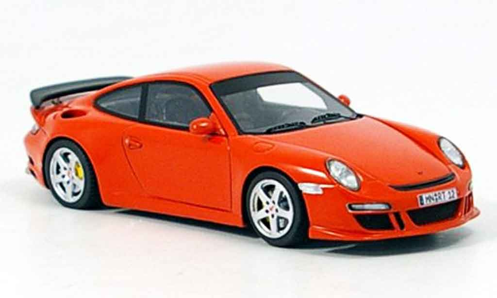 Ruf RT 12 1/43 Spark rouge 2005 miniature