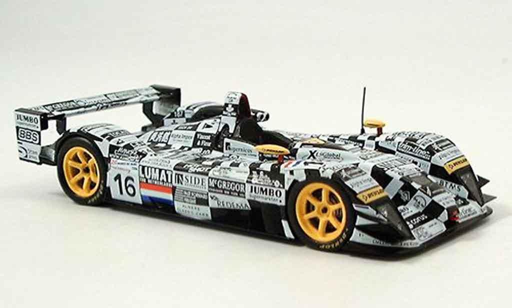 Dome S101 2004 1/43 Spark Judd No.16 Le Mans miniature