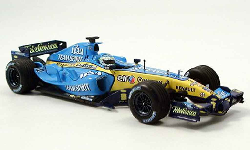 renault f1 miniature f1 team show car 2006 minichamps 1 43. Black Bedroom Furniture Sets. Home Design Ideas