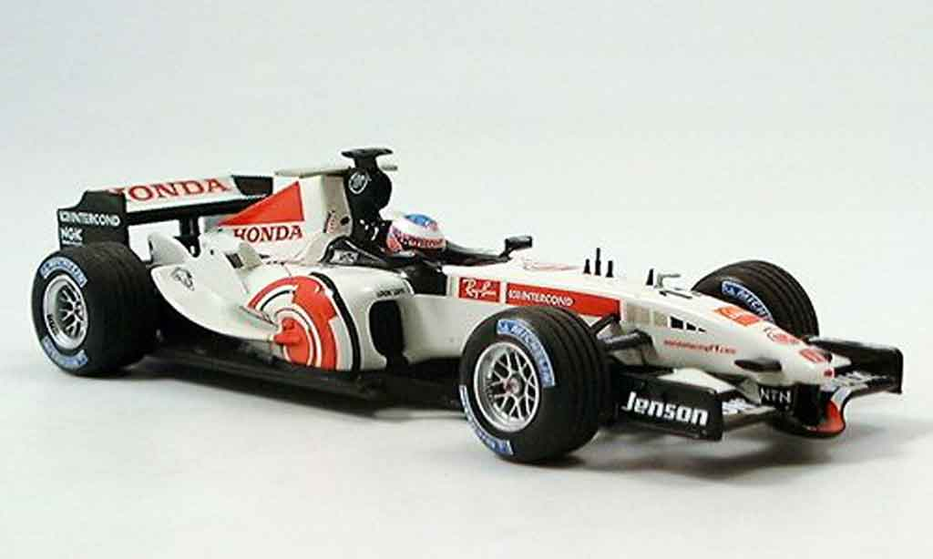 Honda F1 1/43 Minichamps Racing Team Show Car 2006 miniature