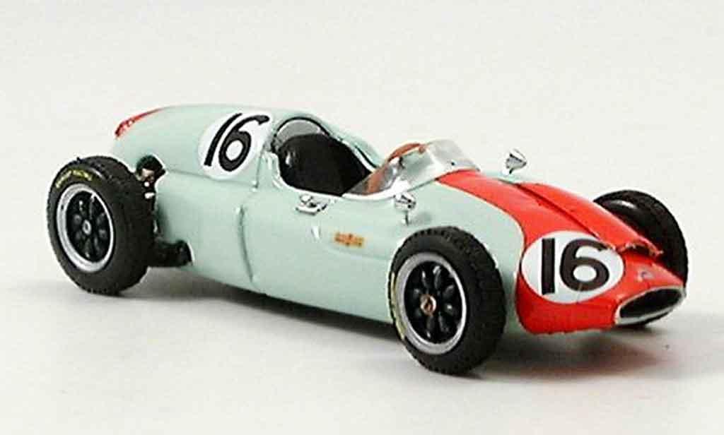 Cooper T51 1/43 Brumm No.16 C.Bristow GP Monaco 1960 miniature