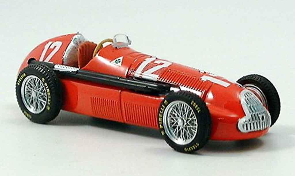 Alfa Romeo 158 1/43 Brumm no.12 l.fagioli gp schweiz 1950 miniature