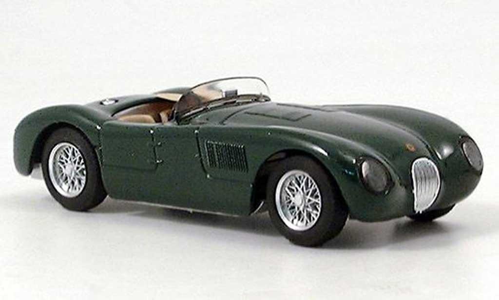 Jaguar C-Type 1953 1/43 Brumm 1953 grun Strassenversion RHD miniature