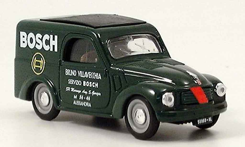 fiat 500 miniature c lieferwagen bosch verte brumm 1 43 voiture. Black Bedroom Furniture Sets. Home Design Ideas