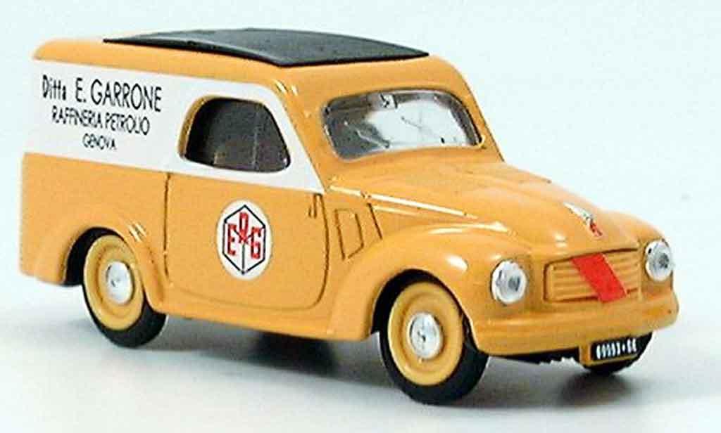 Fiat 500 1/43 Brumm C Lieferwagen ERG 1950