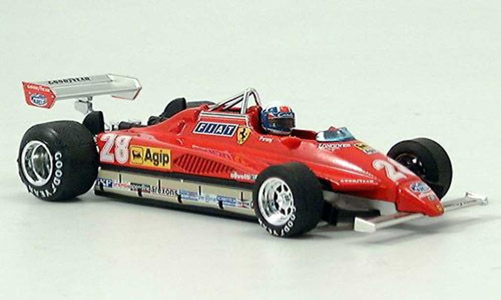 Ferrari 126 1982 1/43 Brumm C2 No.28 D.Pironi GP San Marino avec Pilot miniature