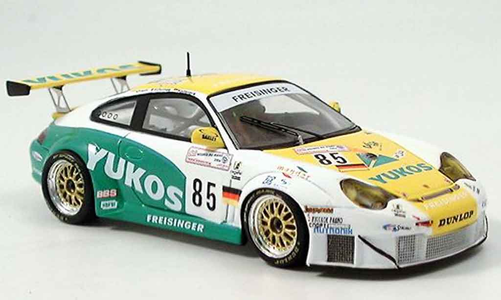 Porsche 996 GT3 RSR 1/43 Spark No.85 Le Mans 2004 diecast model cars
