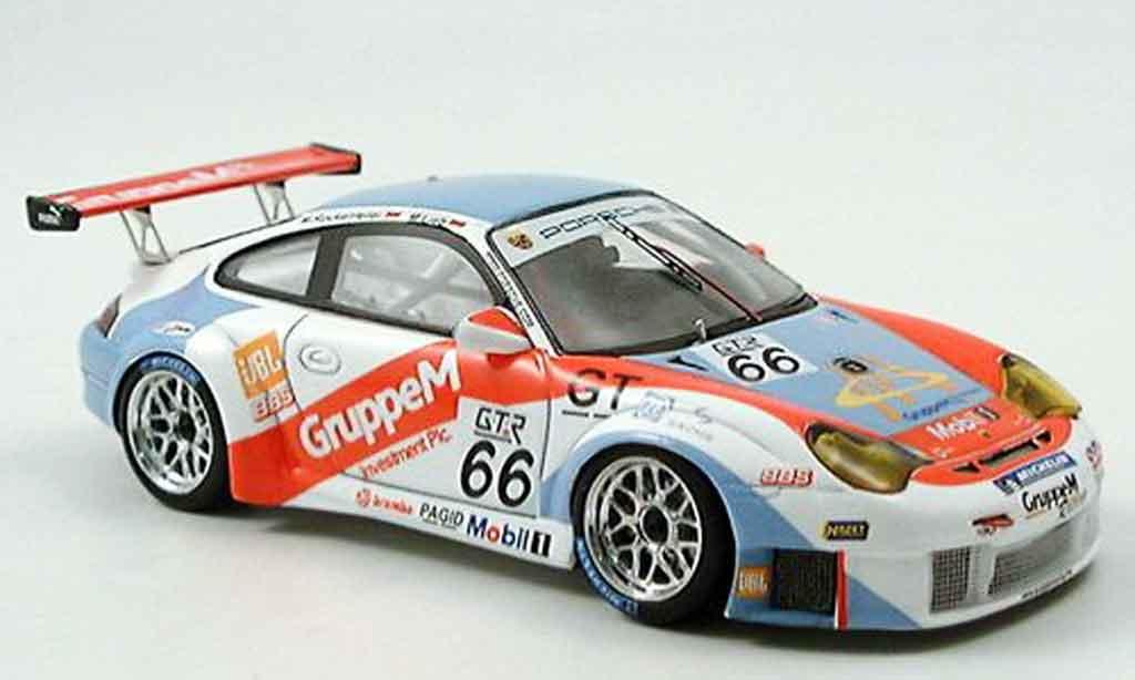 Porsche 996 GT3 RSR 1/43 Spark No.66 FIA GT 2 Klasse Meister 2005 diecast model cars