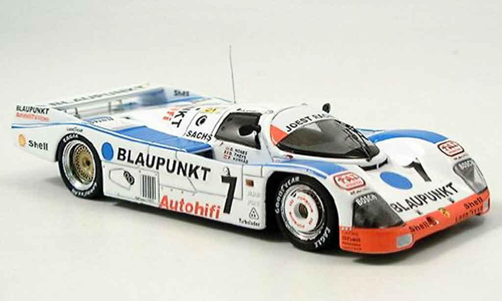 Porsche 962 1988 1/43 Spark No.7 funfter Le Mans miniature