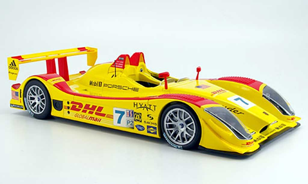 Porsche RS Spyder 1/18 Norev dhl no.7 diecast model cars