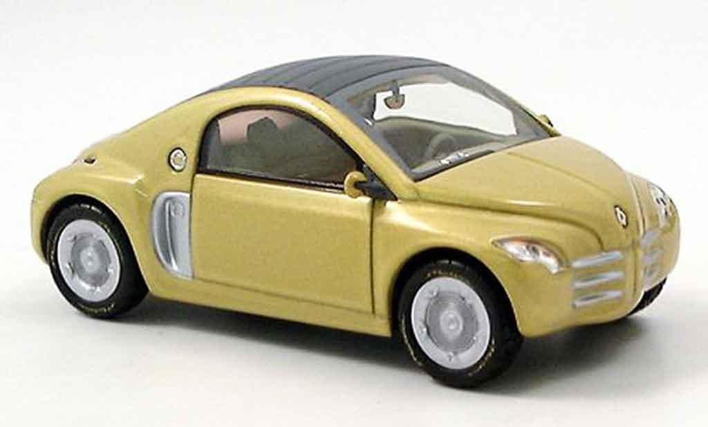 Renault Fiftie 1/43 Norev jaune concept car 1996 miniature