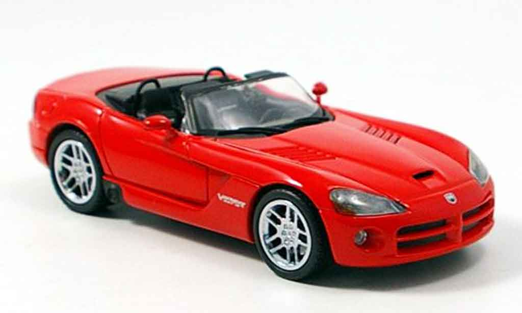 Dodge Viper SRT 10 1/43 Norev convertible/cabriolet rouge 2006 miniature