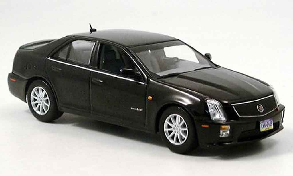 Cadillac STS 1/43 Norev V noire 2006 miniature