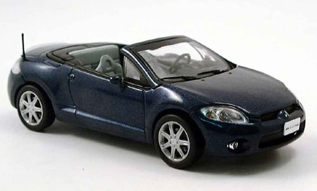 Mitsubishi Eclipse 1/43 Norev Spider bleu 2006 miniature
