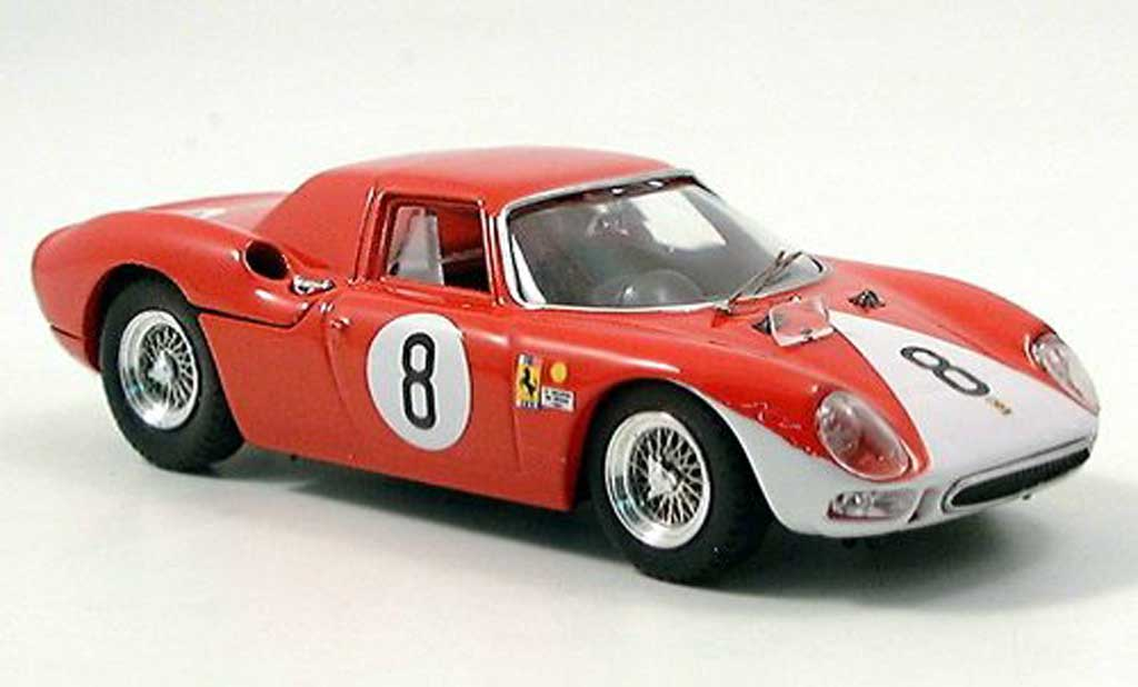 Ferrari 250 LM 1964 1/43 Best Rally Reims No.8 miniature