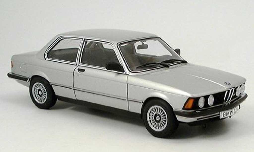 Bmw 323 1/18 Autoart e21 grise 1977 miniature