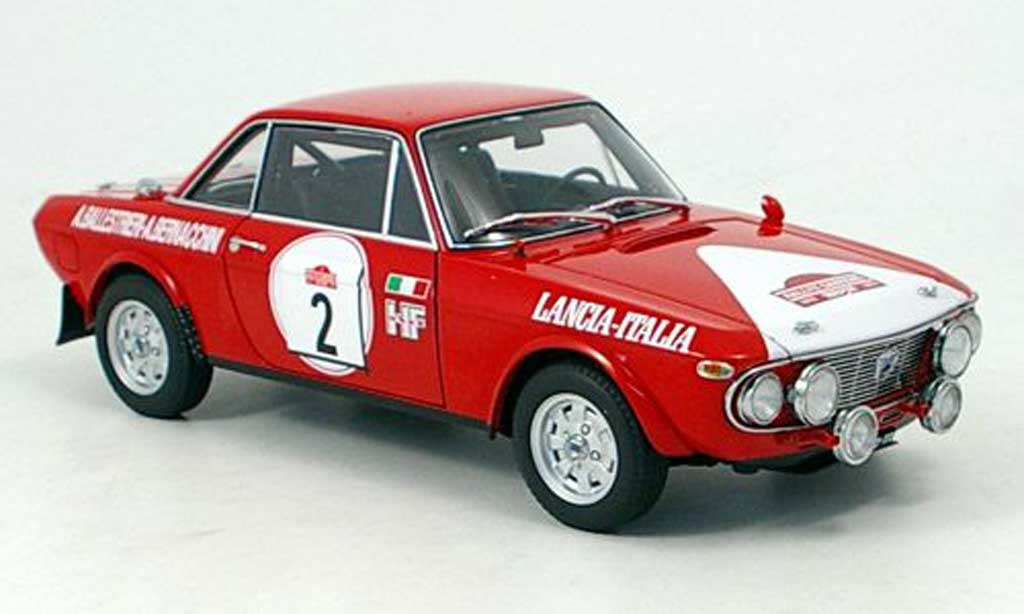 Lancia Fulvia hf 1600 no.2 sieger rally san remo 1972 Autoart. Lancia Fulvia hf 1600 no.2 sieger rally san remo 1972 Rallye miniature 1/18